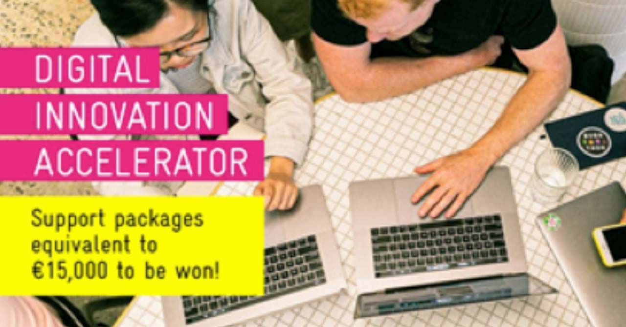 Digital Innovation Accelerator: Application period ended today