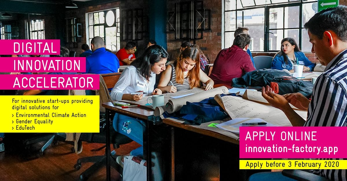 Accelerator Programme is now open!